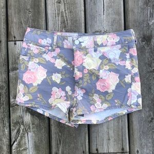 H&M Conscious Collection Floral Shorts
